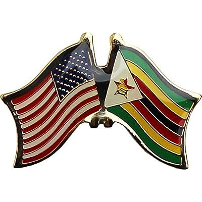 Hot Zimbabwe - Friendship Pin oTHplF5T