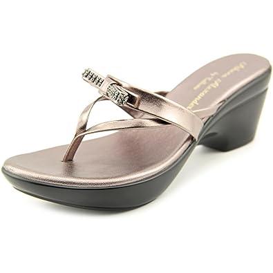 302915c3d Callisto Womens Lassye Split Toe Casual Slide Sandals