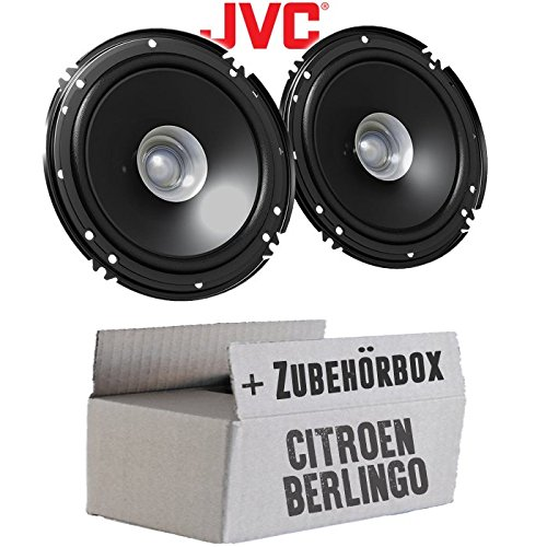 Einbauset f/ür Citroen Berlingo 1 JUST SOUND best choice for caraudio Lautsprecher Boxen JVC CS-J610X 16cm Auto Einbauzubeh/ör 300Watt Koaxe KFZ PKW Paar