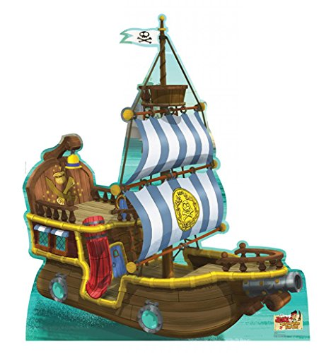 Bucky Pirate Ship - Disney Junior's Jake and the Never Land Pirates - Advanced Graphics Life Size Cardboard Standup