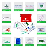 First Aid Kit Survival Medical Kit Outdoor Emergency Bag...