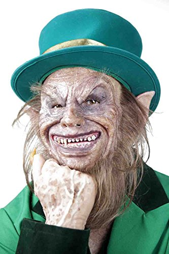The Masker Hand Made Silicone Mask Leprechaun]()