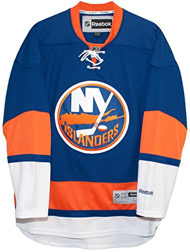 New York Islanders Home Blue Reebok Premier Men's Jersey (Medium)