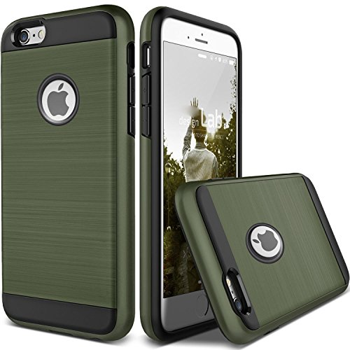 (For Apple iPhone X 8 7 6S 6 iphone8 Plus Case Shockproof Protective Armor Cover (Army Green, iPhone 7 Plus))