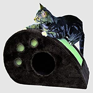 well-wreapped Senior Cat Condo House Furniture, for Indoor Large and Small Cats, Best Cheap heavy Duty Premium Kitty Topi Cat Condo & E-Book