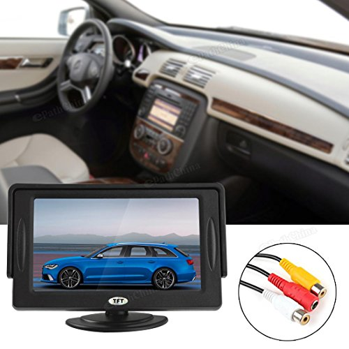 Bezel Tft (ePathChina® 4.3 Inch TFT-LCD Car Rearview Monitor with Pocket-sized Color LCD Display Monitor for Car / Automobile)
