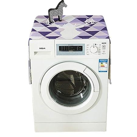 Tapa de lavadora Tambor Lavadora Cubierta de tela Tela ...
