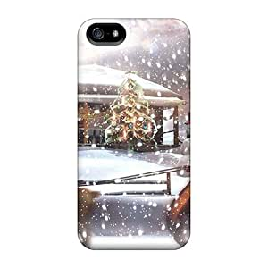 Hot LGR32314dhFp Christmaswallpaper Cases Covers Compatible With Iphone 5/5s