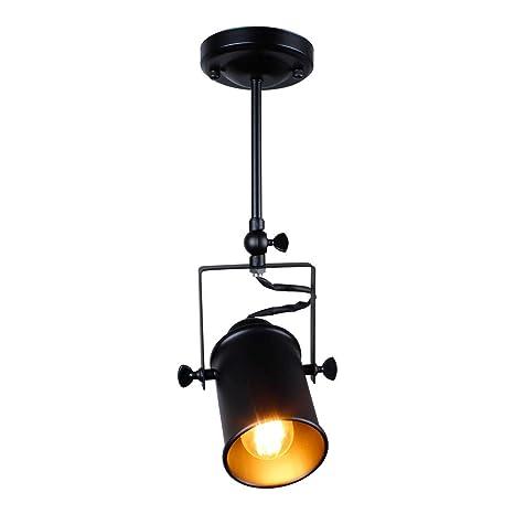 eusolis E27 Loft Industrial Hierro Spotlight Caza - Lámpara ...