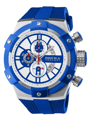 Brera Orologi - Supersportivo - Blue/White - BRSSC4917 by Brera Orologi