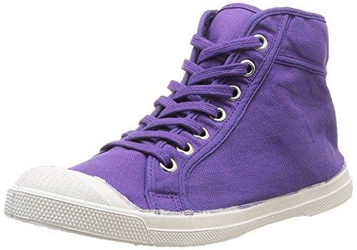 Bensimon Mid Femme - Zapatillas de Deporte de canvas mujer Morado - Violet (Violet 416)