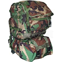 Specialty Defense Systems USGI Military MOLLE II Woodland Camo Standard Backpack