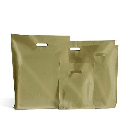 200 bolsas de plástico dorado 15