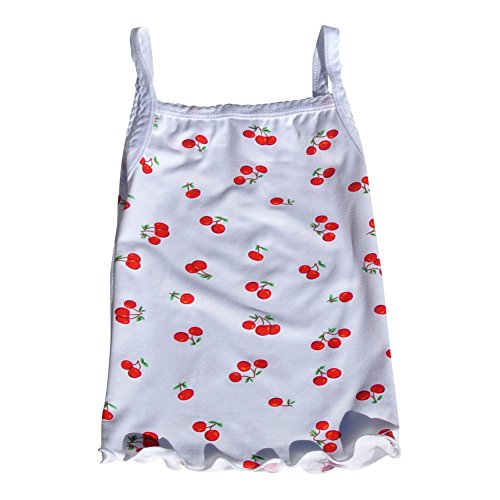 Infant Toddler Ruffled Printed Camisole