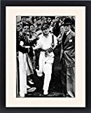 Framed Print of Don Bradman Going out to Bat for the Last Time, Melbourne Cr