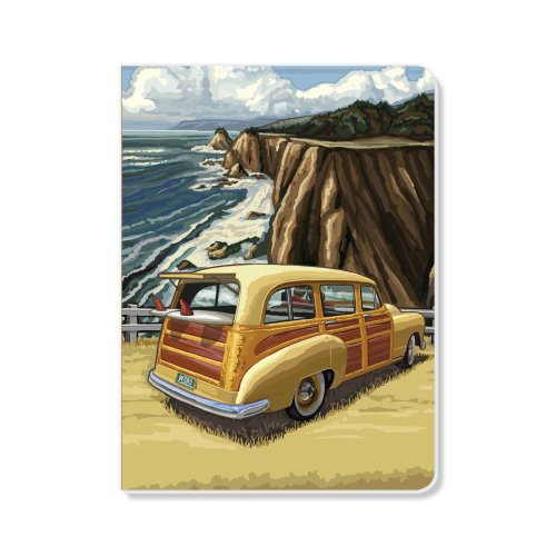 ECOeverywhere Pacific Coast Highway Sketchbook, 160 Pages, 5.625 x 7.625 Inches (sk14393) by ECOeverywhere