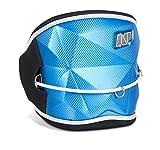 NP Surf Bomb Hybrid Waist Kite and Windsurfing Harness, Blue, Small