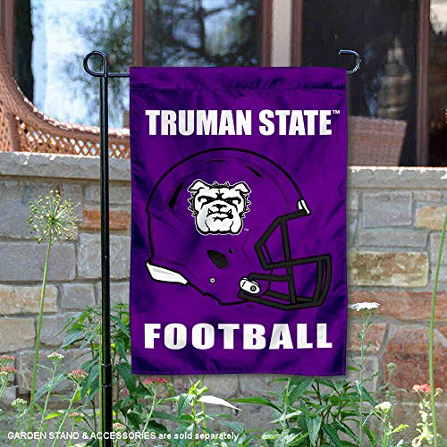 College Flags and Banners Co. Truman State Football Helmet Garden Yard Flag