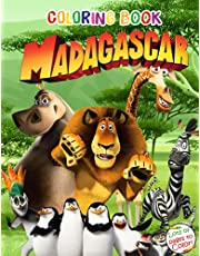 Madagascar Coloring Book: Great Coloring Book For All Ages With Animals Of Madagascar, SPECIAL ENLARGED EDITION For Learn And Fun