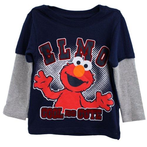 Elmo Toddler Boys Sleeve Shirt