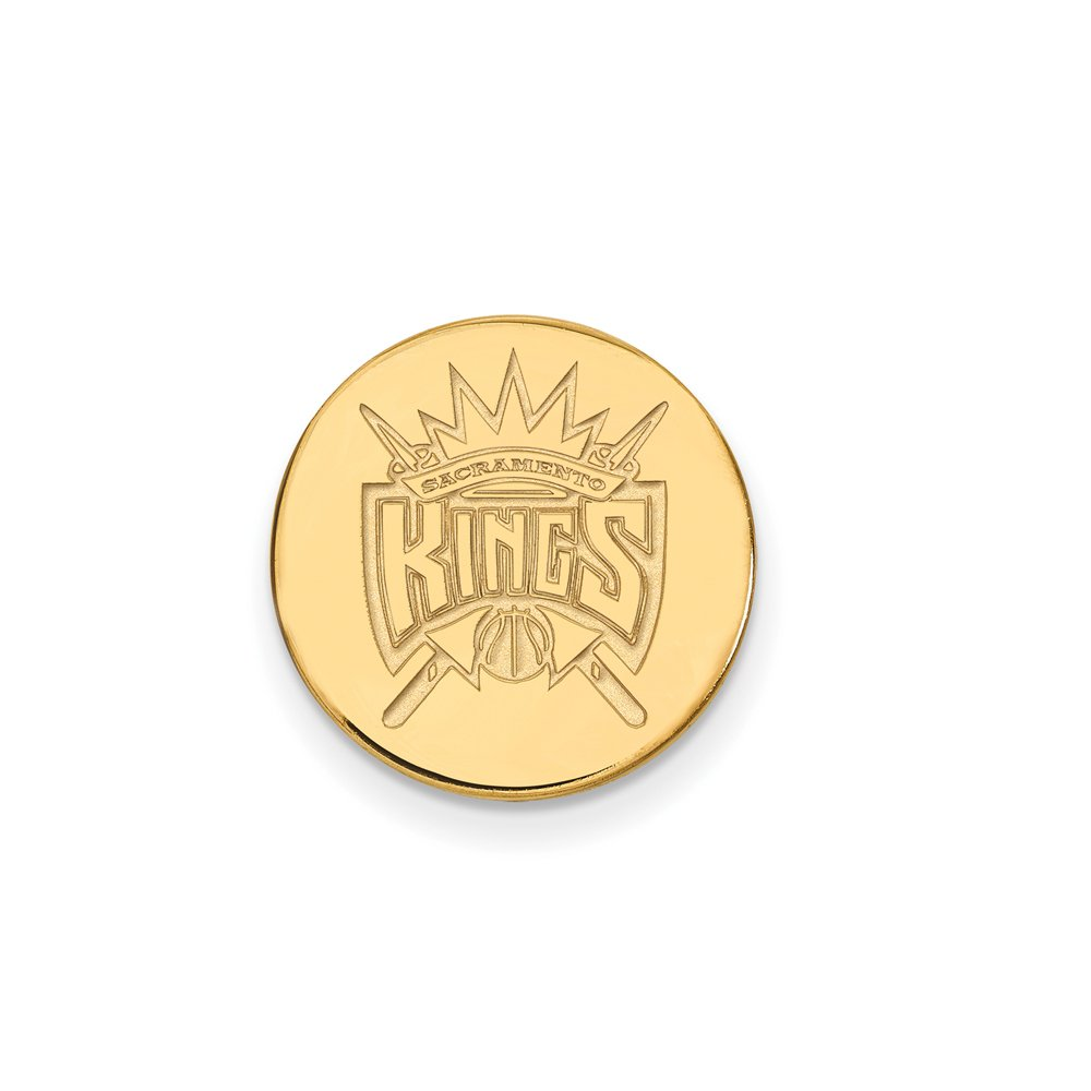 NBA Sacramento Kings Lapel Pin in 14K Yellow Gold