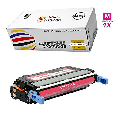 (GLB Premium Quality Remanufactured Replacement for HP 501A/502A HP 3600 Magenta Q6473A Toner Cartridge )