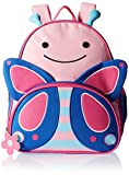 Skip Hop Zoo Toddler Kids Backpack, Butterfly, Girl, Pink, 12-inches