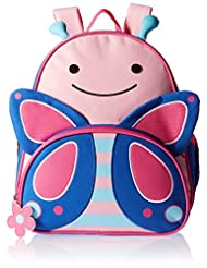 Skip Hop Zoo Toddler Kids Insulated Backpack Blossom Butterfl...