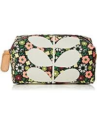 Flower Bloom Canvas Cosmetic Bag