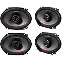 Alpine Spr-68 6 x 8 Inch 2 Way Pair of Car Speakers Totalling 1200 Watts Peak / 400 Watts RMS