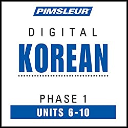 Korean Phase 1, Unit 06-10