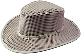 product image for Head 'N Home - Cabana Latte SolAir Breathable Mesh Shade Hat - Size Large