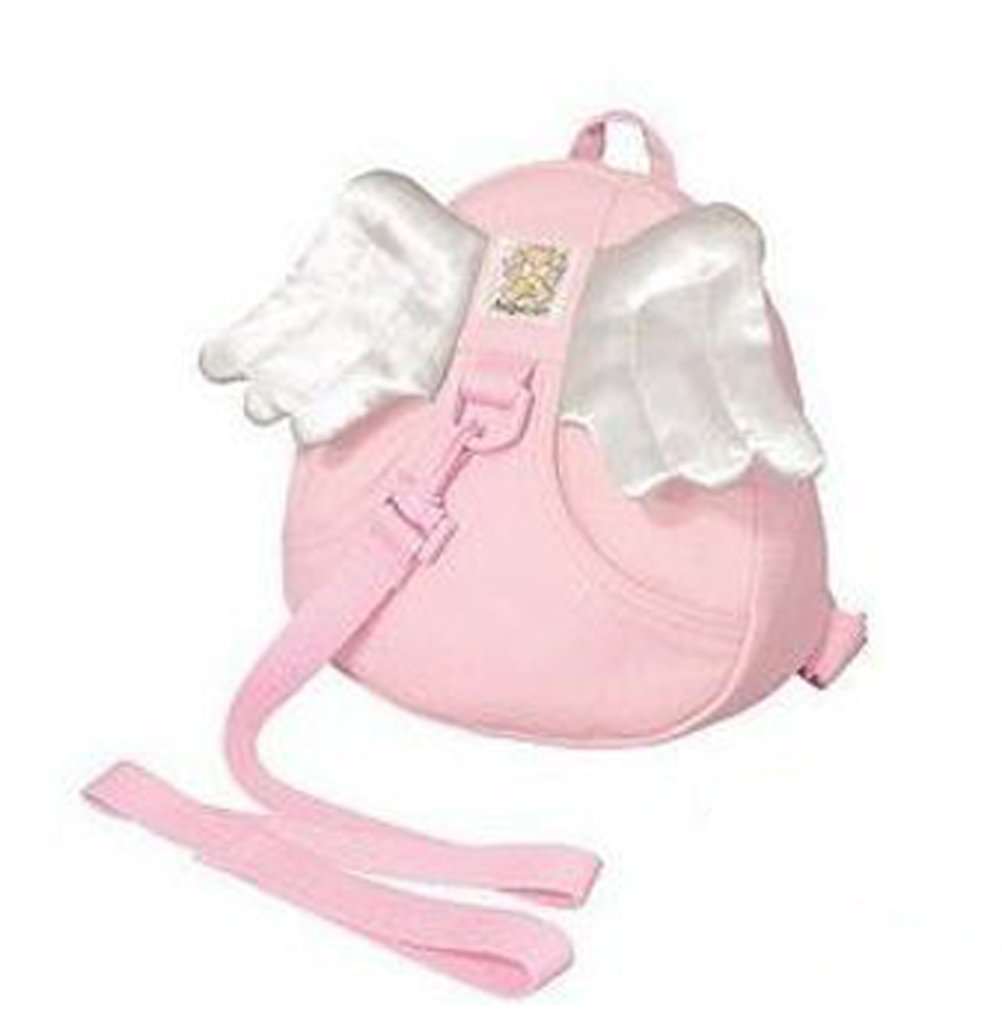 DTOL Toddler Safety Harness Kid Baby Backpack Reins Harnesses - Angel-Pink DATON