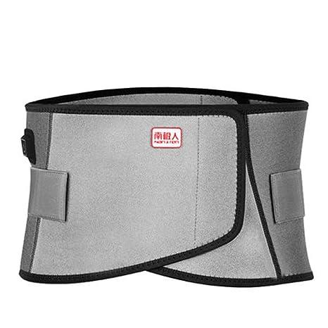 YWY Cinturón de Masaje Cinturón de Calentamiento eléctrico Mantener el Soporte Lumbar Caliente Ayuda a aliviar