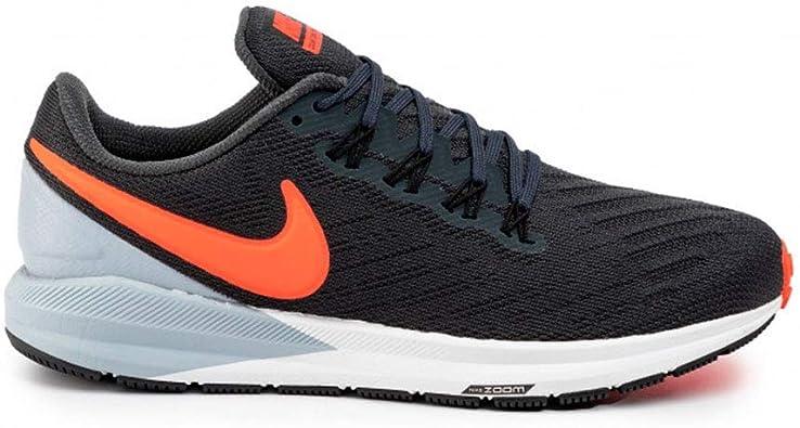 Nike Air Zoom Structure 22, Zapatillas de Atletismo para Hombre, Multicolor (Anthracite/Bright Crimson/Wolf Grey 010), 38.5 EU: Amazon.es: Zapatos y complementos
