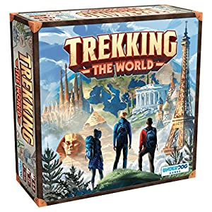 Underdog Games Trekking The World: A Globetrotting Family Board Game