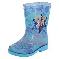 Disney Frozen Elsa Anna Rain Boot (Blue)