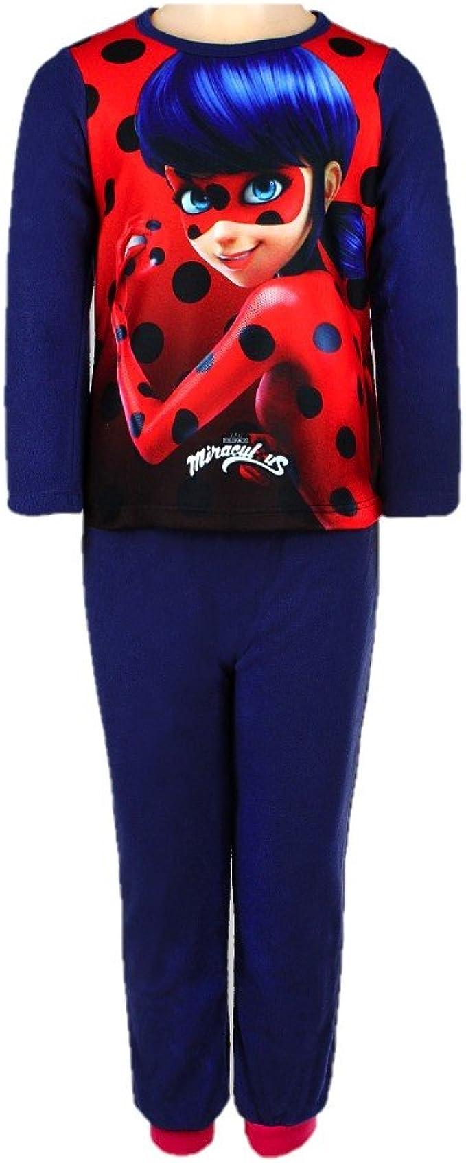 Miraculous Ladybug - Pijama dos piezas - para niño Rojo azul ...