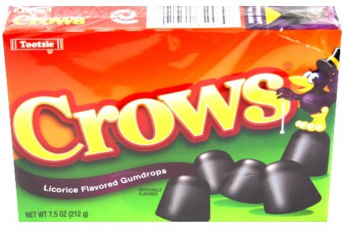 Crows Licorice Flavored Gumdrops Crows Licorice