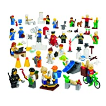 LEGO Education Community Mini Figures Set 4598355 (256 Pieces)