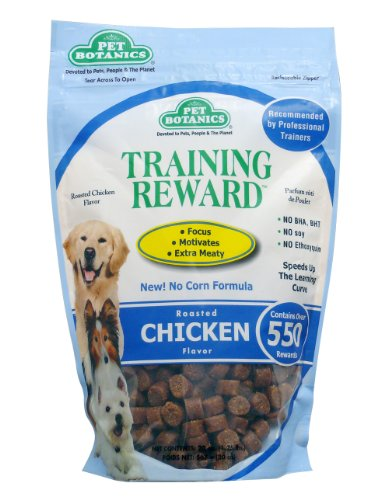 Cardinal Laboratories Botanic Training Rewards Treats for Dogs, Chicken, 20-Ounce, My Pet Supplies