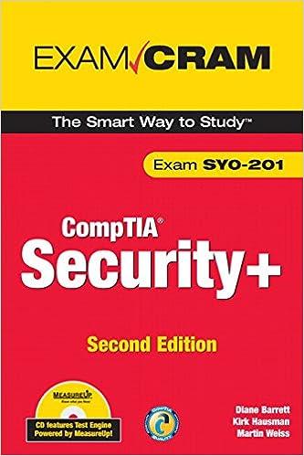CompTIA Security+ Exam Cram (Exam Cram (Pearson)): Amazon co