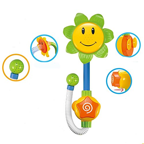 Bathroom Swimming Sunflower Children Educational