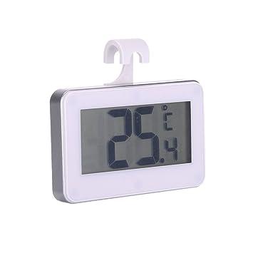aihometm impermeable electrónico de alta precisión termómetro frigorífico congelador habitación termómetro alarma de Frost: Amazon.es: Hogar