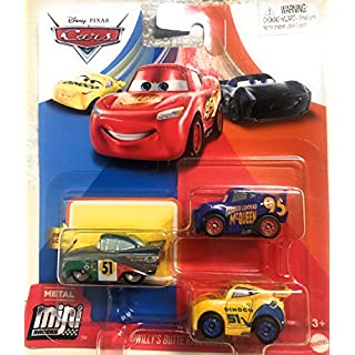 Cars Disney Pixar Metal Mini Racers Willys Butte Race Series