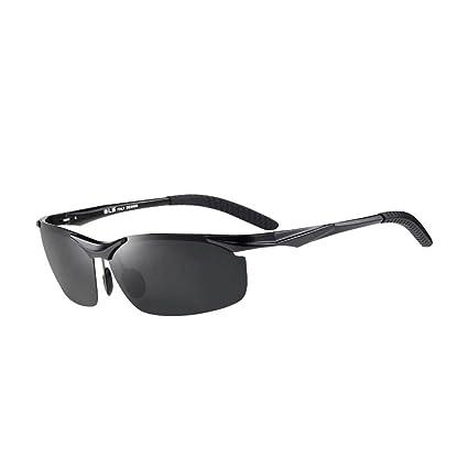 DT Gafas de Sol para Hombres Marco Grande Aluminio Magnesio Gafas Polarizadas Gafas de Sol Driver