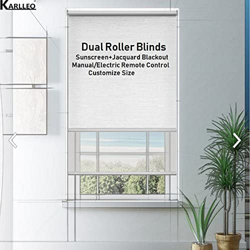 Vertical blind in non blackout Spring Cream /'Made to Measure/' sizes up to 300cm