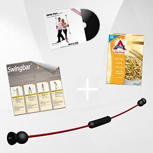 NEU Swing Stick PREMIUM mit 2 Schwierigkeitsstufen, Made in Germany inkl. DVD...