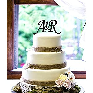 Personalized Cake Topper - Initials