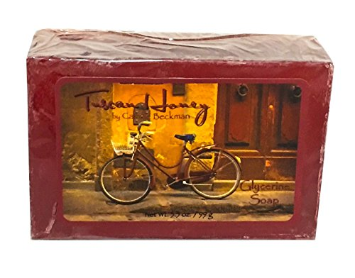 - Camille Beckman Glycerine Bar Soap, Tuscan Honey, 3.5 oz
